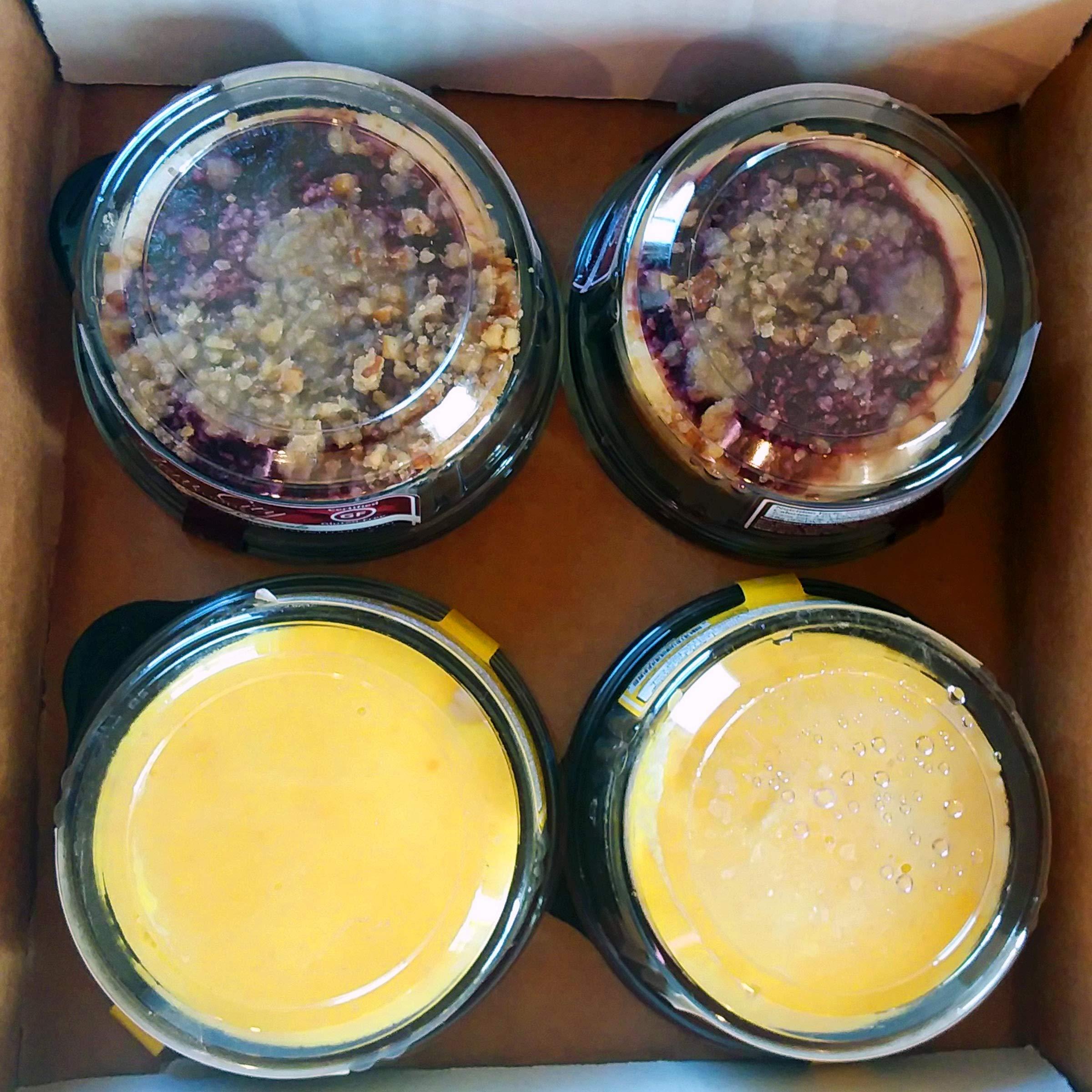 Fruit Cheesecake Sampler (Certified Gluten Free) by Gem City Fine Foods