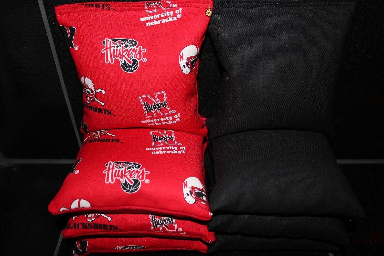 Swell Amazon Com Nebraska Cornhuskers 8 Cornhole Bean Bag Toss Evergreenethics Interior Chair Design Evergreenethicsorg