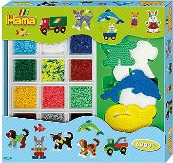 Hama Beads gigante abierto caja de regalo , color, modelo surtido: Amazon.es: Juguetes y juegos