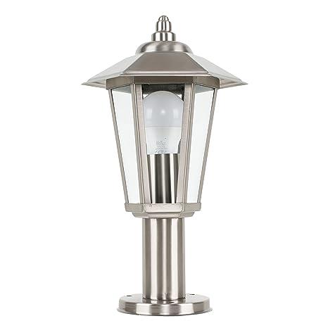 MiniSun - Moderno sobremuro con luz para exteriores Mottram ...