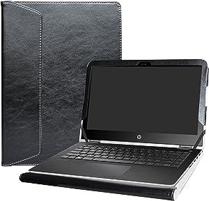 """Alapmk Protective Case Cover for 13.3"""" HP Pavilion x360 13 13-uXXX m3-uXXX 13-sXXX (Such as m3-u103dx 13-U163NR 13-S120nr) Laptop[Warning:Not fit Pavilion x360 13 13-aXXX Series],Black"""