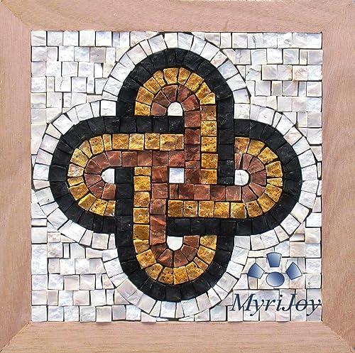 Amazon Com Mosaic Tile Kit For Adults Diy Solomon S Knot 9 X9