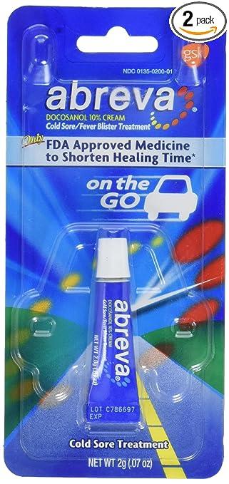 abreva cold sore treatment