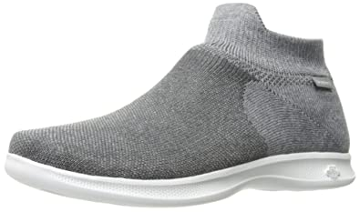 3355a4d796 Skechers Performance Women's Go Step Lite-Ultrasock 2.0 Walking Shoe,Gray,6  M