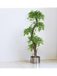 Large Contemporary Artificial Plants And Trees, Luxury Japanese Fruticosa  Tree, Handmade Using Real Bark