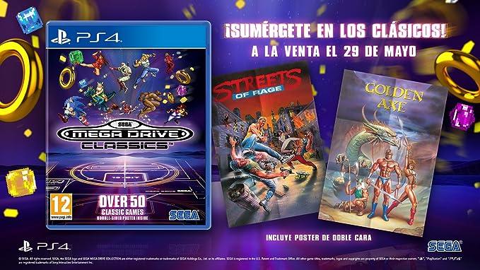 Sega Mega Drive Classics: PlayStation 4: Amazon.es: Videojuegos