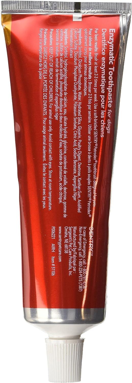 Pasta de dientes enzimática para perros Petrodex