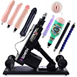 Sex Machine Automatic Love Machine, Adjustable Speed and Angle Fucking Machine with 8 New Thrusting Attachments, Male…