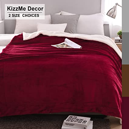 Home, Furniture & DIY Sherpa Fleece Blanket Flannel Home Decor Coral Velvet Warm Quilt Sofa Bed Throw