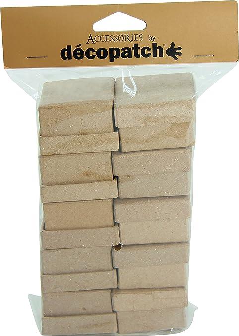 Kraft Naturale Decopatch Oggetto da Decorare in cartapesta Carta