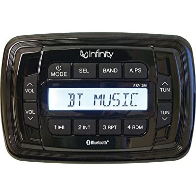 Infinity INF-PRV250 AM/FM/Bluetooth Multimedia Receiver - Receiver Only: Automotive