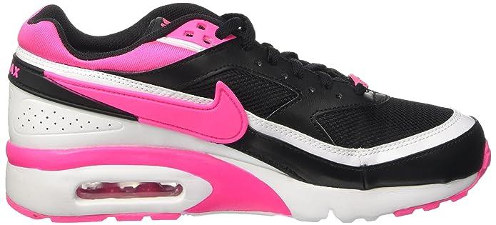 nike air max bw gs schwarz weiß pink