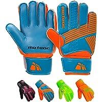 meteor Guantes Portero Goalkeeper Gloves Entrenamiento Futbol Equipacion fútbol niños - protección para los Dedos…