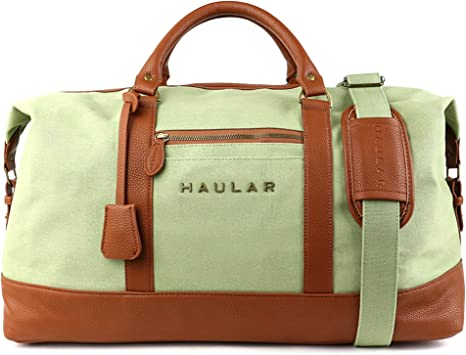 Sel Natural sac de voyage Toile Holdall grand sac /à main de week-end Voyage Sac Totes Sac /à bandouli/ère