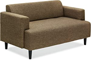 Furinno Simply Home Modern Fabric Sofa Bed, Brown