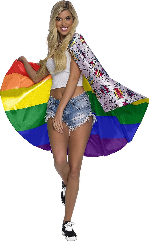 Rubie's Unisex Reversible Certified Pride Cape