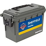 Sheffield 12629 Field Box | Great Pistol, Rifle, or Shotgun Ammo Storage Box
