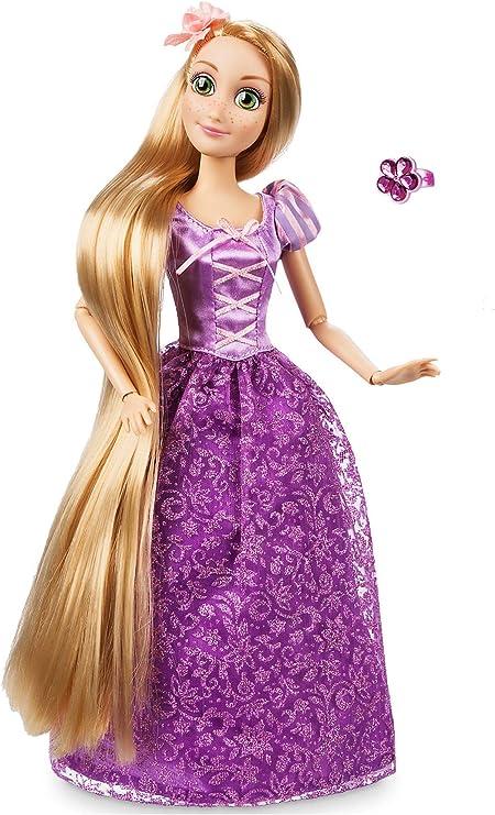 Rapunzel Doll 30 Cm Disney Con Accessori Per I Capelli