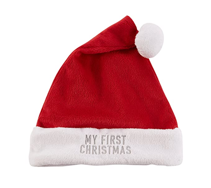 30bd01416de74 Amazon.com  Carter s Baby My First Christmas Santa Hat  Clothing