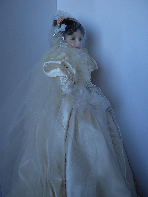 Amazon.com: Ashton-Drake, Elizabeth\'s 1900\'s Wedding Dress Porcelain ...