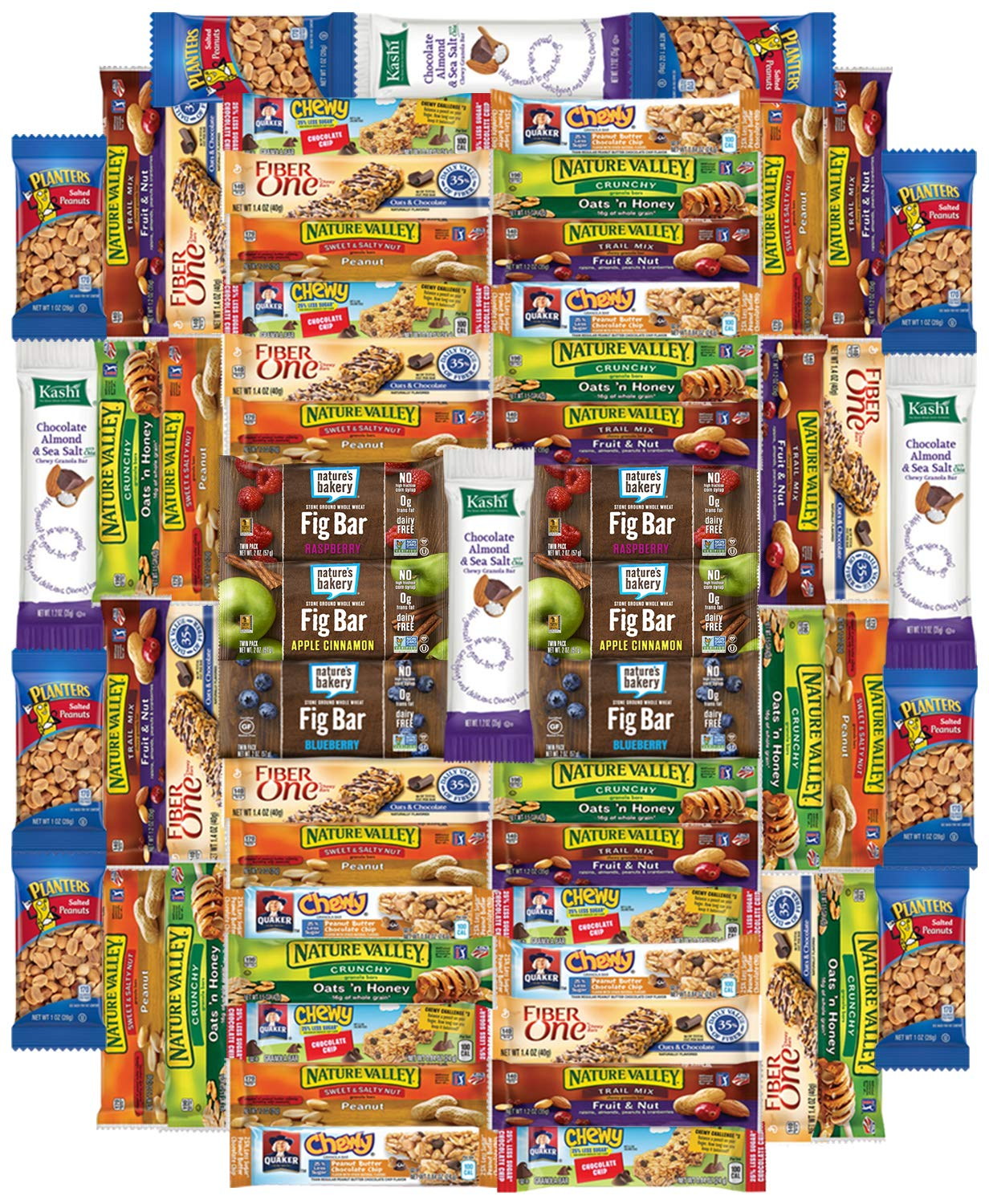 Snacks Generation Healthy Bars Care Package (60 Count)