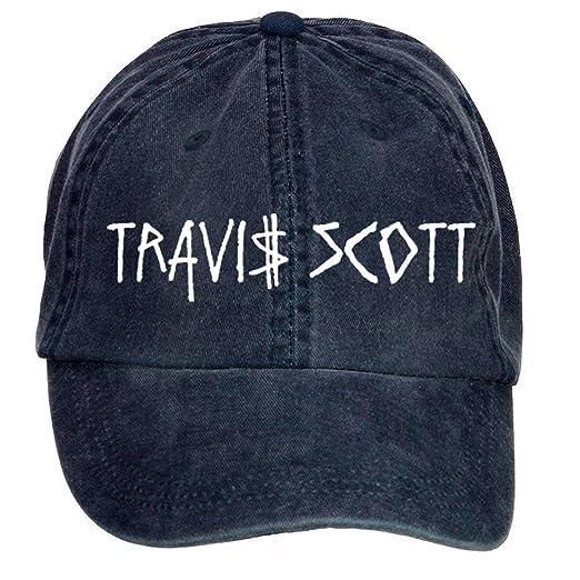 2b46ddb9 Amazon.com: Shkdg Cotton Travis Scott Classic Man's Adjustable Baseball Cap  (7869696753675): Books