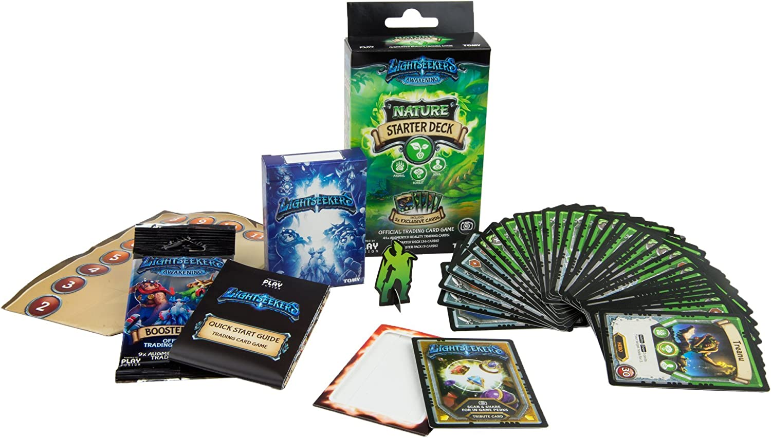 Lightseekers Trading Card Game Starter Deck, Nature