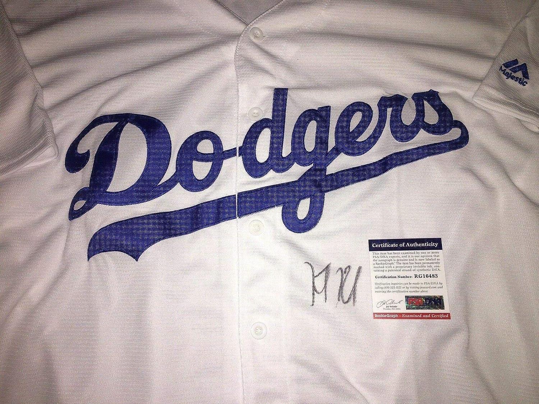 Keibert Ruiz Signed Los Angeles Dodgers Jersey Top Prospect