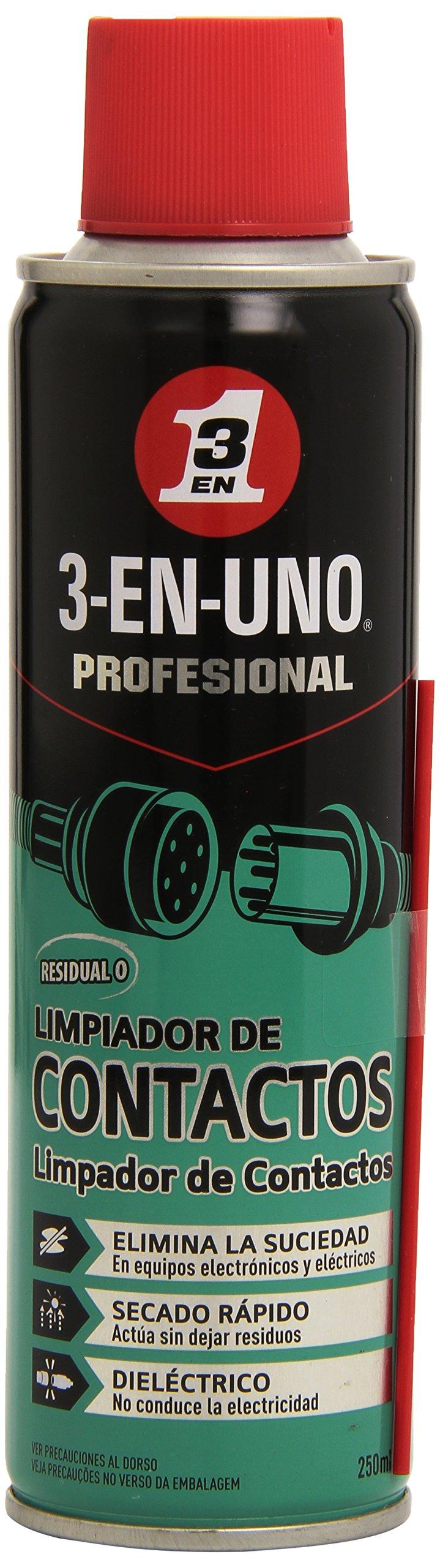 3 En 1- Limpia Contactos 3 En 1 Profesional 250Ml. 34474 product image