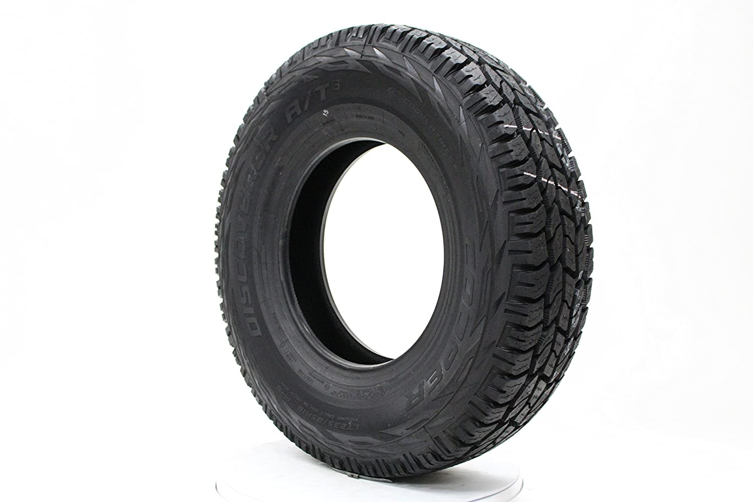 Cooper DISCOVERER A/T3 All-Terrain Radial Tire - 225/75-17 120R 51734