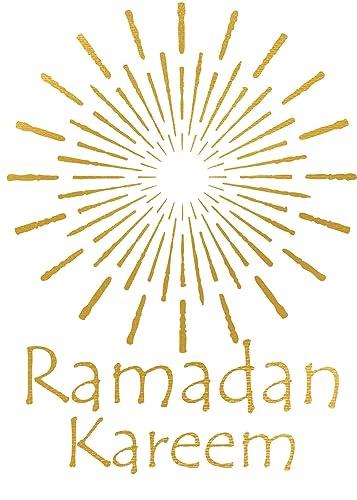 Amazon ramadan greeting card ramadan kareem card gold foil ramadan greeting card ramadan kareem card gold foil ramadan card ramadan card set m4hsunfo