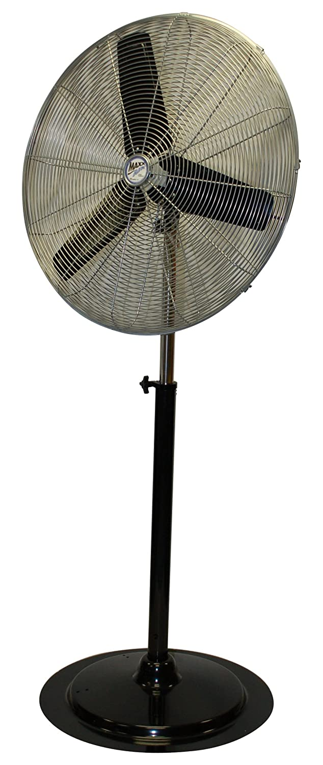 MAXXAIR HVPF 30 UPS 30-Inch Heavy-duty Three Sd Pedestal Fan on