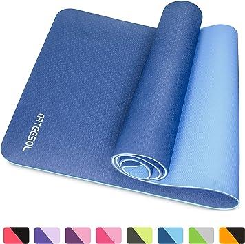 Tapis de yoga pour Pilates Gym Exercice sangle de transport 15 mm épaisse large-livraison rapide