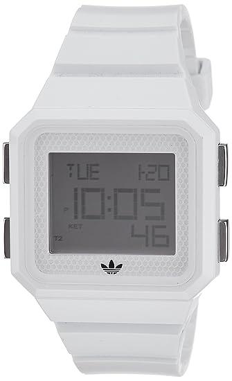 Adidas Adh4056 - Reloj para hombres, correa de plástico color blanco: Amazon.es: Relojes