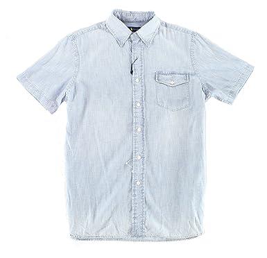459216437 Polo Ralph Lauren Men s Standard-Fit Chambray Shirt at Amazon Men s ...