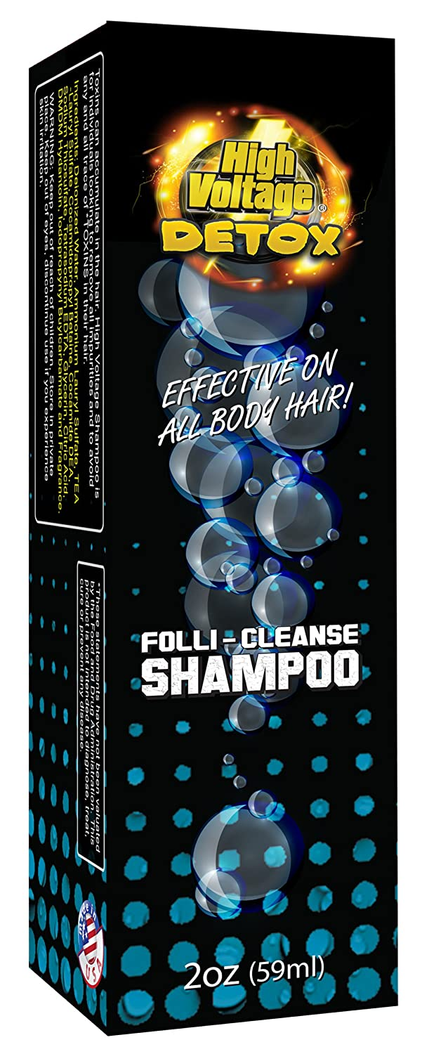 High Voltage Hair Follicle Cleanser Detox Test Shampoo 3