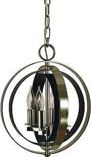 product image for Framburg 4-Lt.Polished Nickel/Matte Black Constellation Pendant