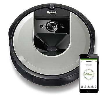 iRobot Roomba i7156 Robot Aspirador Adaptable al hogar, Ideal para Mascotas, Alta Potencia de