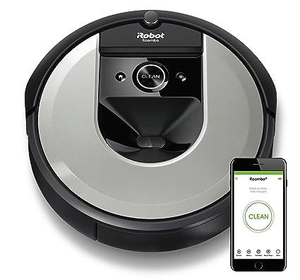 iRobot Roomba i7156, Robot Aspirador, Aprende, mapea y se Adapta a su casa