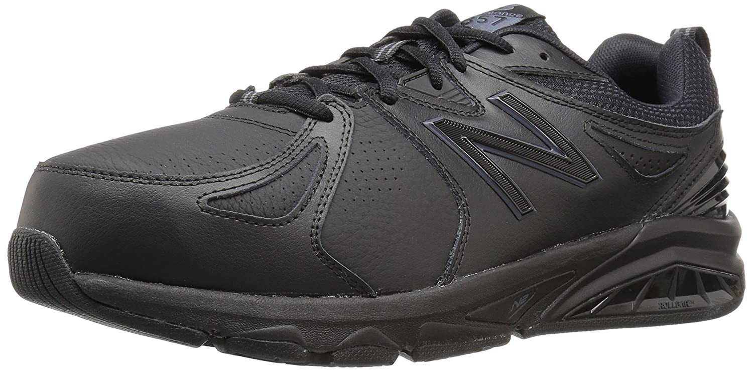 New Balance Men's mx857v2 Casual Comfort Training Shoe B01CQTLVUK 11.5 B US|Black