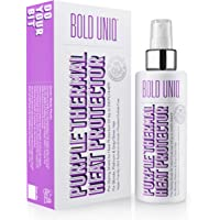 Heat Protectant Spray Formulated For Blonde, Platinum, Ash & Silver/Gray Hair. Thermal Shield Protection Professional…