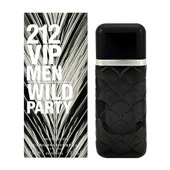 Carolina Herrera 212 Vip Men Wild Party Edt Vapo 100 Ml - 100 ml: Amazon.es