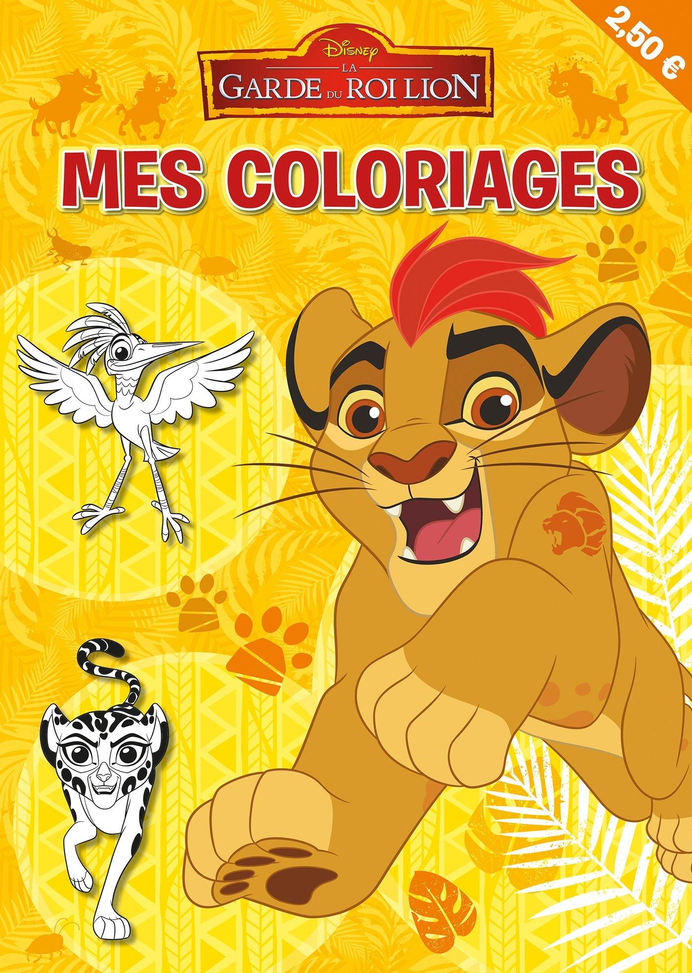 Mes Coloriages La Garde Du Roi Lion Amazon Co Uk Disney