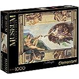 Clementoni - Puzzle vaticano 1000 piezas Michelangelo: la creación del hombre (31402)