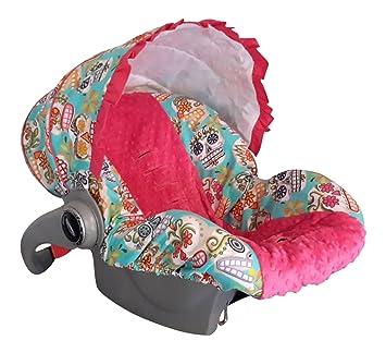 Infant Car Seat Cover Baby Slip Sugar Skull