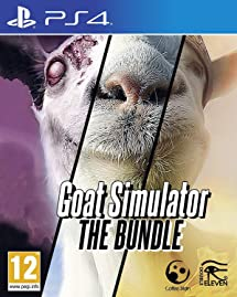 Amazon.com: Goat Simulator: The Bundle (Playstation 4 PS4 ... on men of war map, goat sim map, cry of fear map, magicka map, defense of the ancients map, europa universalis iv map, goat in tornado, the stanley parable map, goat app, rayman map, watch dogs map, goat world map, don't starve map, goat book, the elder scrolls online map, metal gear solid map, nosgoth map, grand theft auto v map, the banner saga map, payday 2 map,