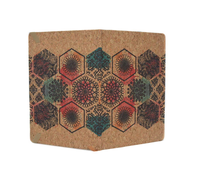 Cuaderno de corcho (Geométrico)