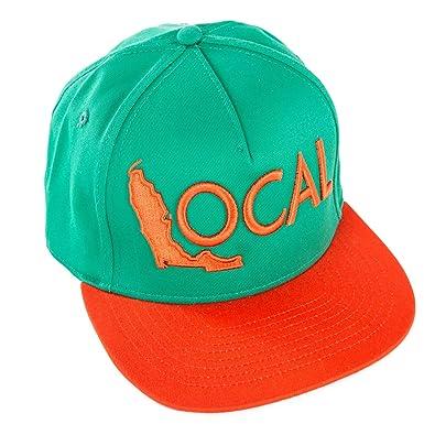 e9cb438f91adaa Local Brand, Florida Local Snapback Hat, Green/Orange, One-size at ...