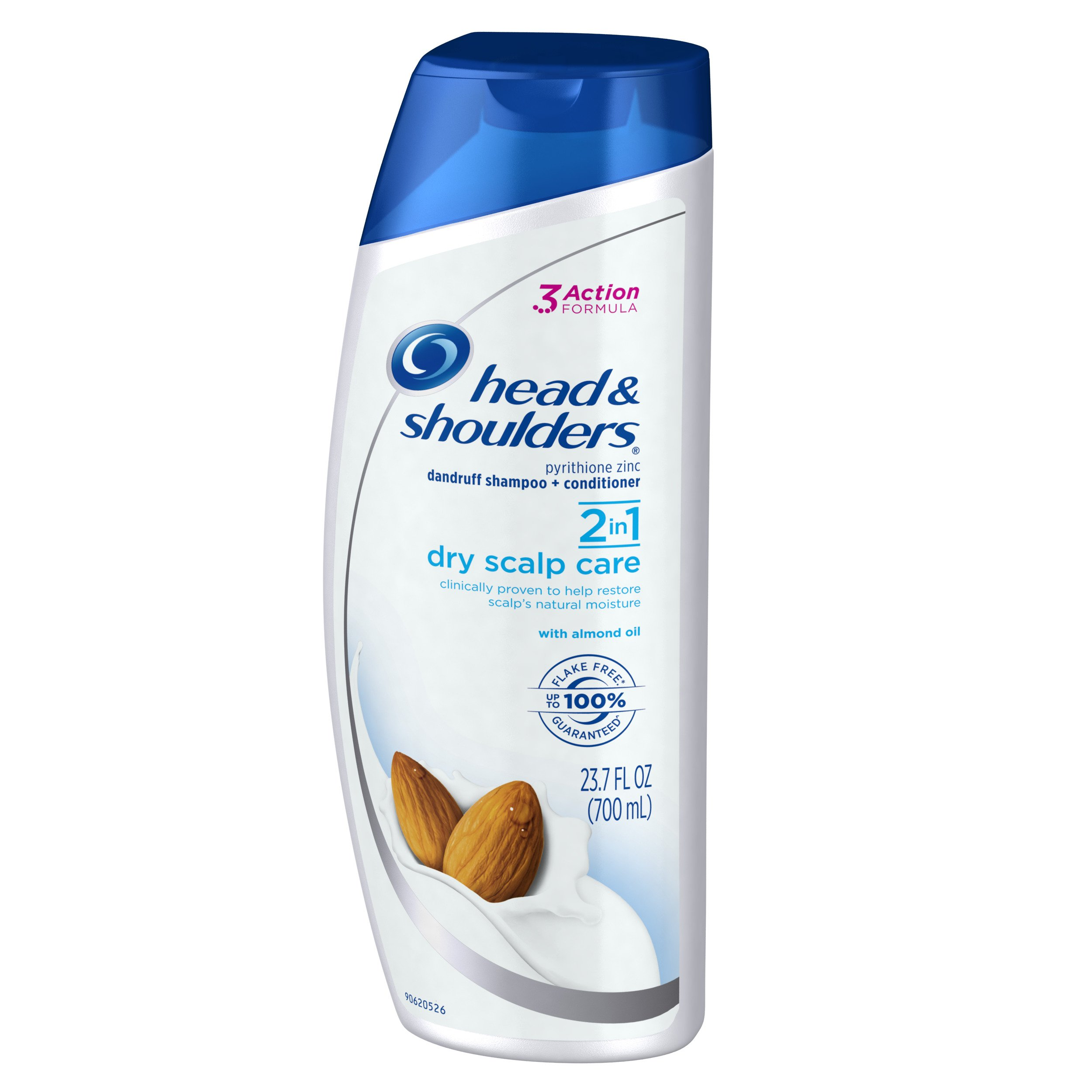 Head & Shoulders Dry Scalp Care with Almond Oil 2-in-1 Anti-Dandruff Shampo,23.7 ounce (Pack of 2) by Head & Shoulders (Image #6)