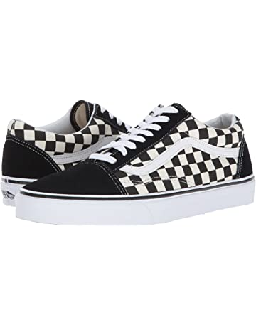 25e820f7862 Vans Unisex Old Skool (Primary Check) Skate Shoe